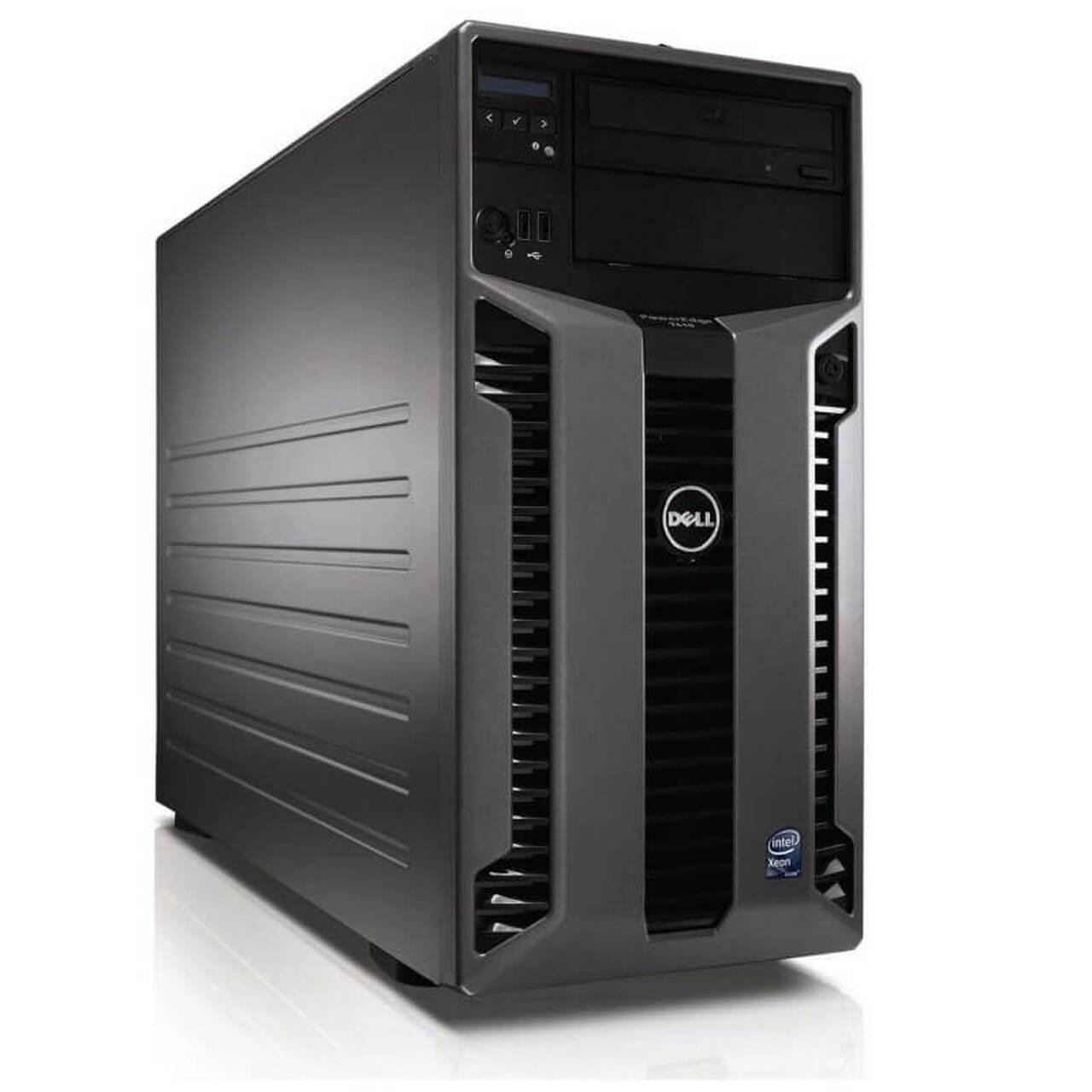 servidor dell t610 com 2 xeon six core 32gb intel e-5645 2.4ghz 2hds sas 600gb