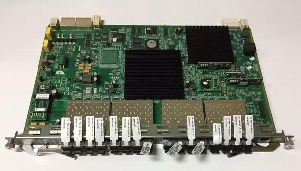 placa gcob para olt fiberhome com 16 portas gpon e 16 modulos gbic c+