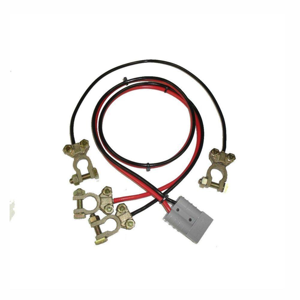 cabo para bateria de 12v e 24v para nobreak ragtech