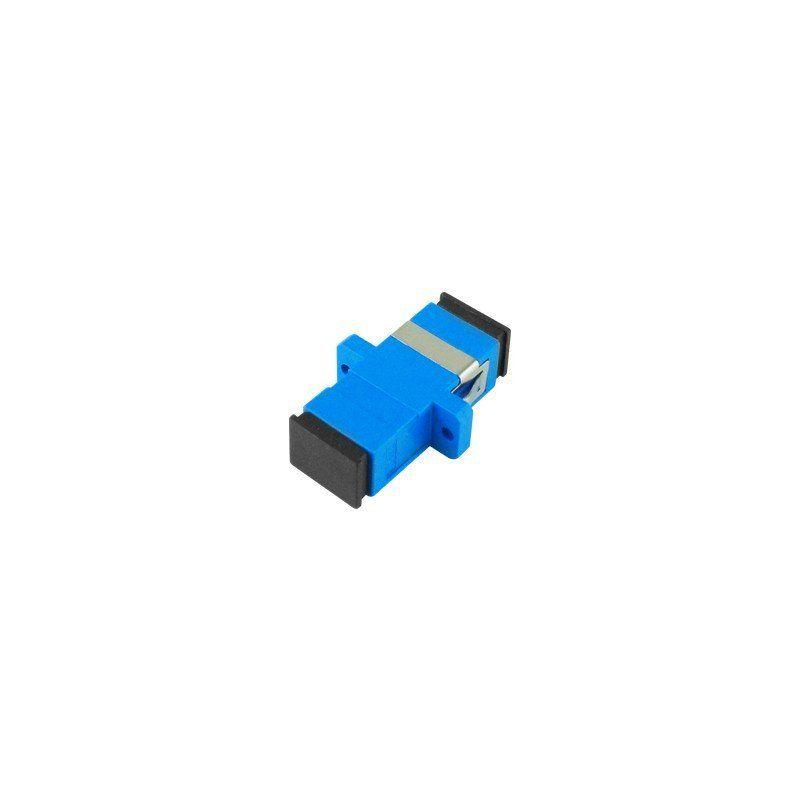 adaptador óptico simplex monomodo sm - sc ,  upc azul nazda