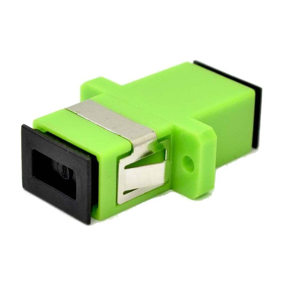 adaptador óptico sc, apc