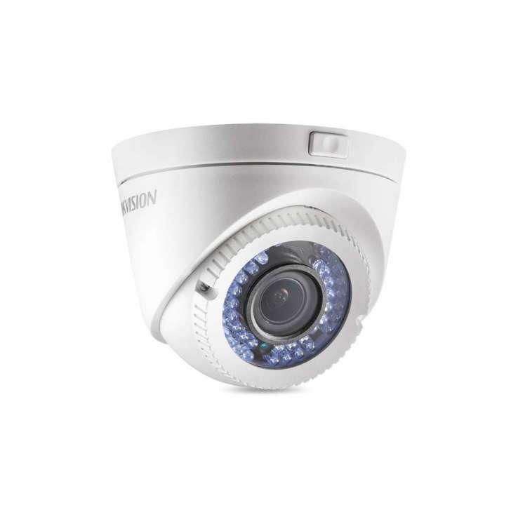 camera dome varifocal 1.3mpx  40m 2.8-12mm tvi - ds-2ce56c2t-vfir3 - hikvision