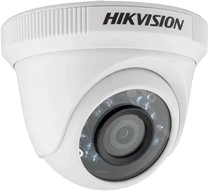 camera dome 1.0 megapixel hd 720p 20mts lente 3.6mm ds-2ce56c0t-irpf - hikvision