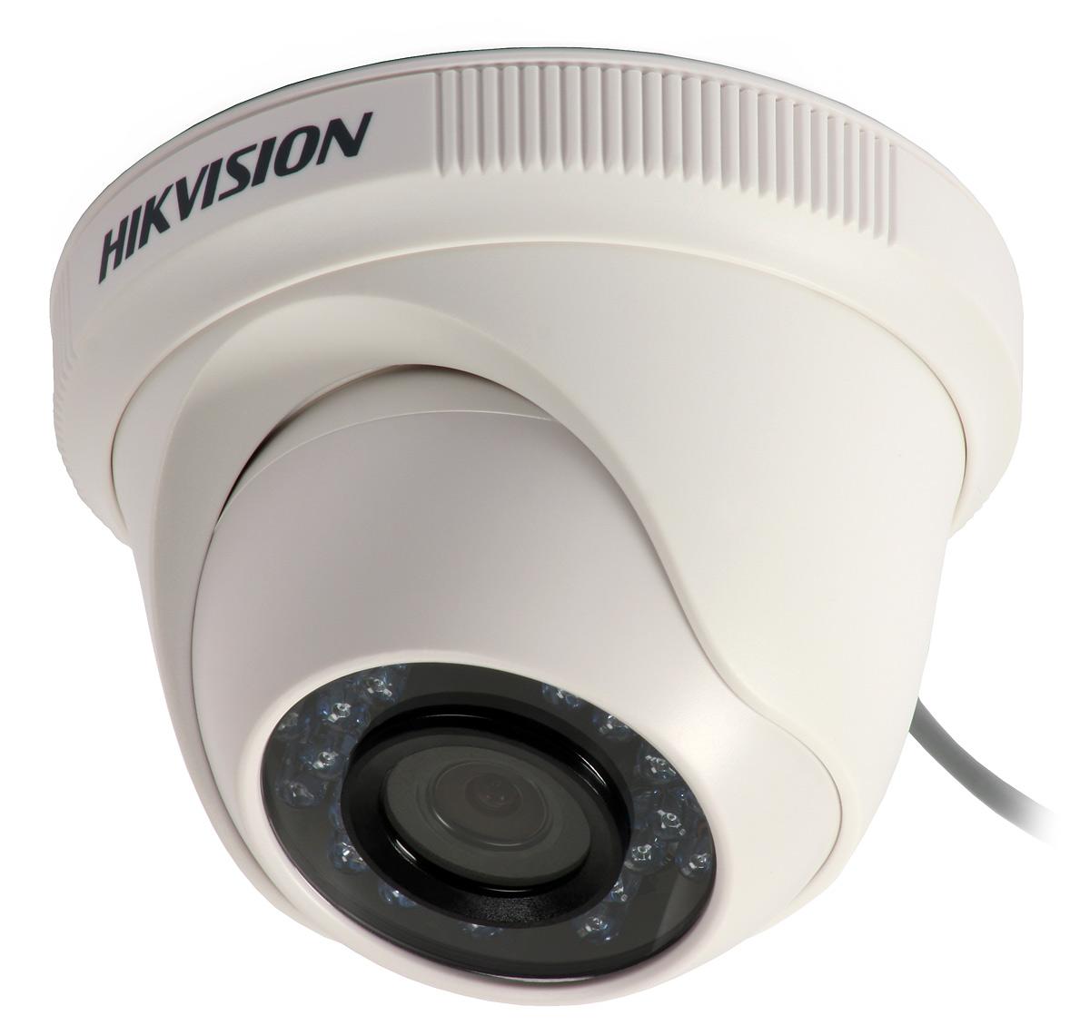 camera dome ir 2.0 megapixel hd 1080p 20mts lente 3.6mm ds-2ce56d0t-irpf - hikvision