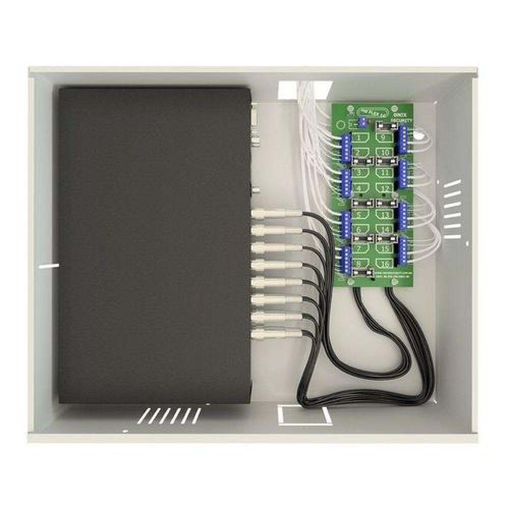 rack mini orion hd 3000 organizador de cabos para dvr 08 canais - onx - 3304