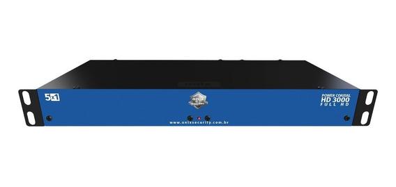 rack para cftv power coaxial hd 3000 04 canais - onx - 3832