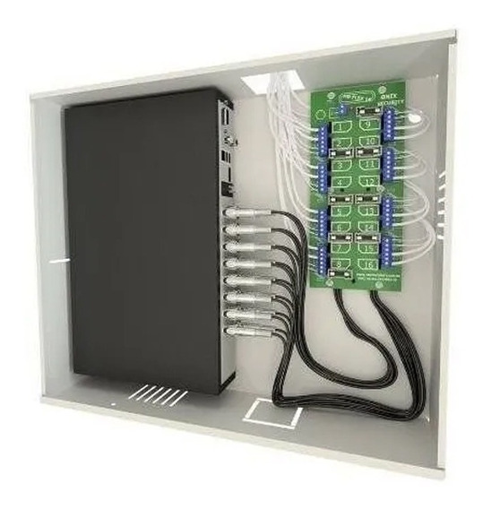 rack organizador para cftv mini orion hd3000 16ch - onx
