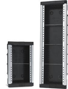 gabinete modular embutir ge-2 - hdl