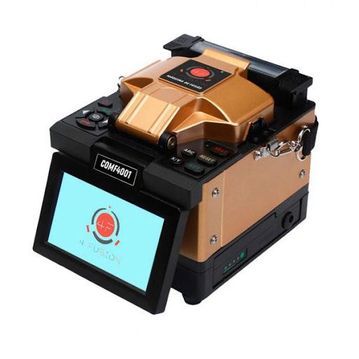 máquina de fusão pelo núcleo 4fusion comf4001 tela touch 4,3   kit com clivador alicate decapador