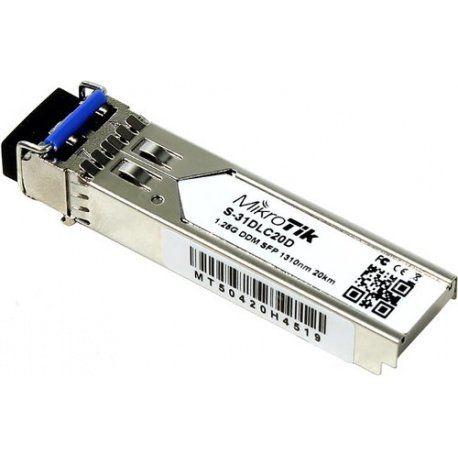 modulo mini-gbic sfp 1.25g sm 20km mikrotik