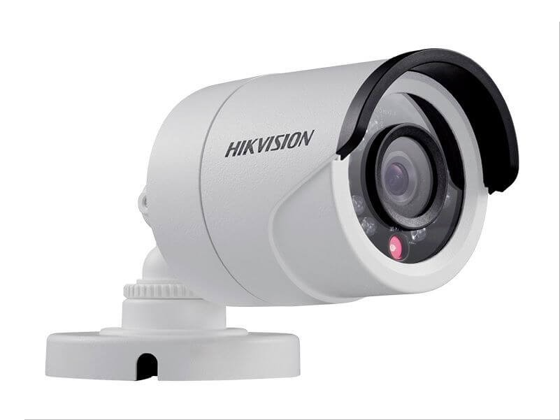 camera bullet hd 1mpl 720p 20 mts 6mm  ds-2ce16c2t-ir6 - hikvision