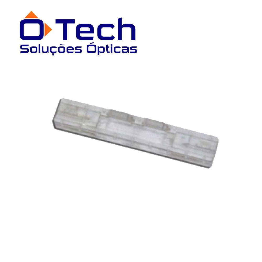 emenda mecânica transparente com guia hoea2211 o-tech