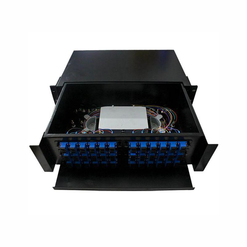 d.i.o 36fo completo conector sc, upc distrib interno óptico 2f-fdio-36-upc