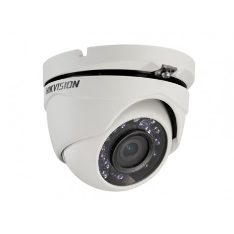camera dome 20m 2mpx 3.6mm tvi - ds-2ce56d1t-irm - hikvision