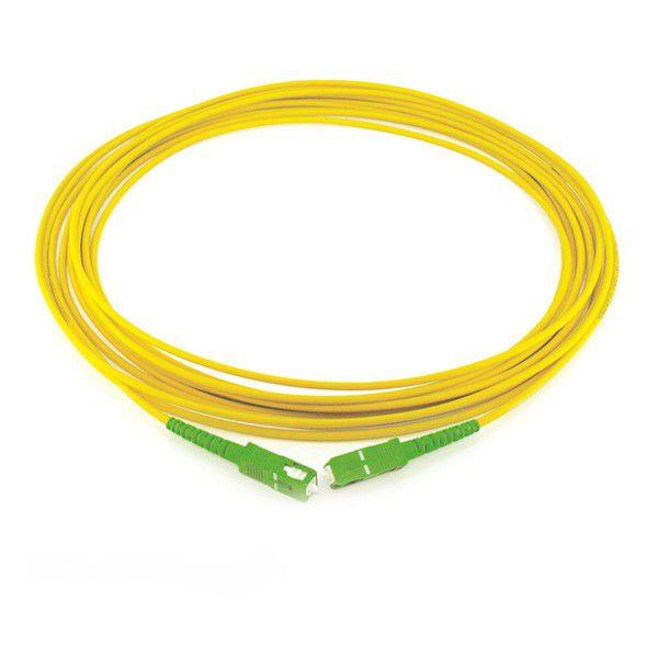 patch cord óptico sc-apc ,  sc-apc 3 metros