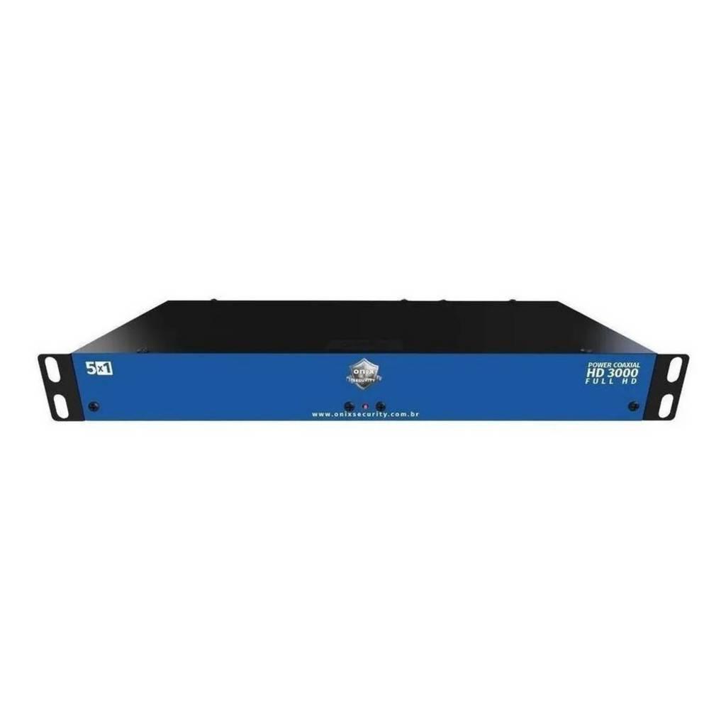 rack para cftv power coaxial hd 3000 16 canais - onx - 3834