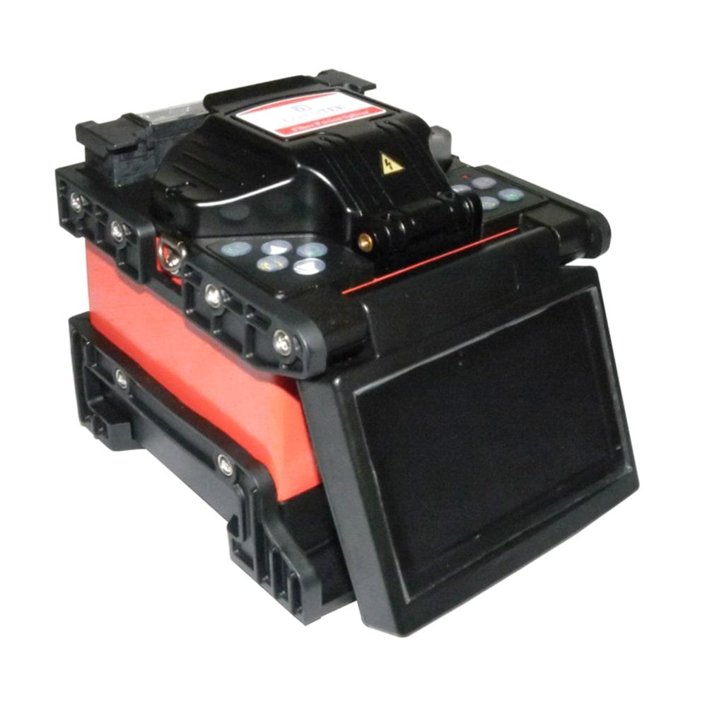 máquina de fusão de fibra optica overtek ot-7400 alinhamento e fusão pelo núcleo