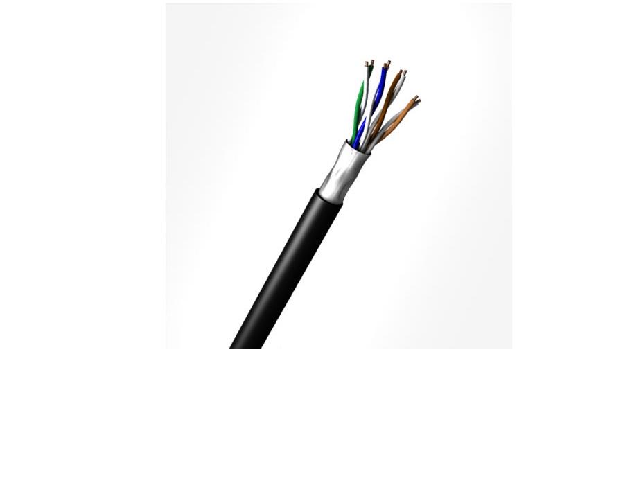 cabo de rede lan cat5e 100% cobre anatel utp 4p 305mts preto cmx proteçao uvs megatron